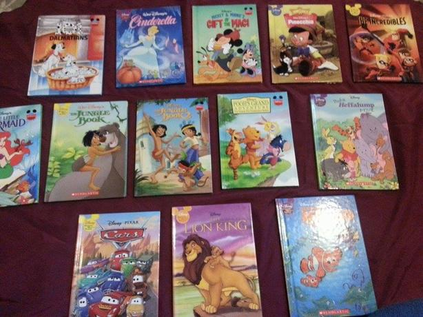 Set of 13 Disney Books