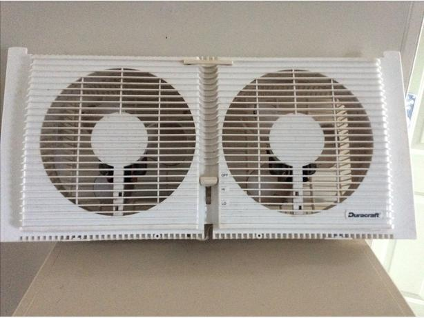 Duracraft window fan
