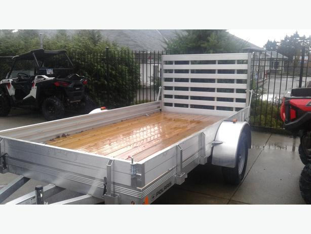 2016 POLARIS R12 ALUMINUM TRAILER