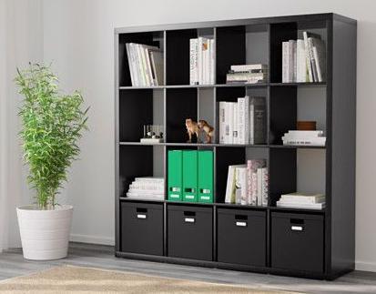 Ikea kallax shelf unit black brown sooke victoria mobile - Mobile ikea kallax ...