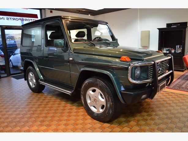 1996 3 door mercedes benz g320 gelandewagen outside for Mercedes benz gelandewagen