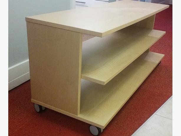 ikea tv stand with wheels victoria city