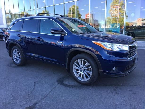 2015 Toyota Highlander Hybrid XLE NAVIGATION NO ACCIDENTS LOCAL VICTORIA