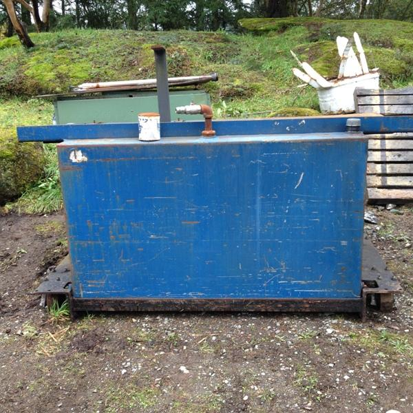 Metal Work Bench And Waste Oil Tank South Nanaimo