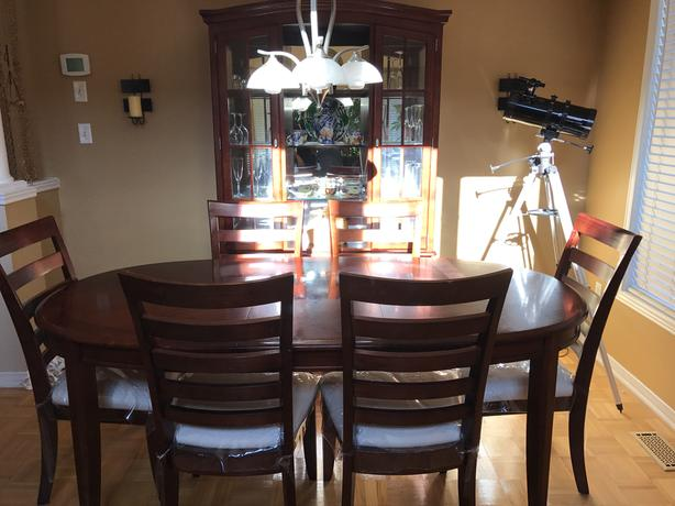 Moving Sale 9 Piece Dining Room Set