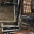 Slat wall retail merchandising hanging equipment/fixtures