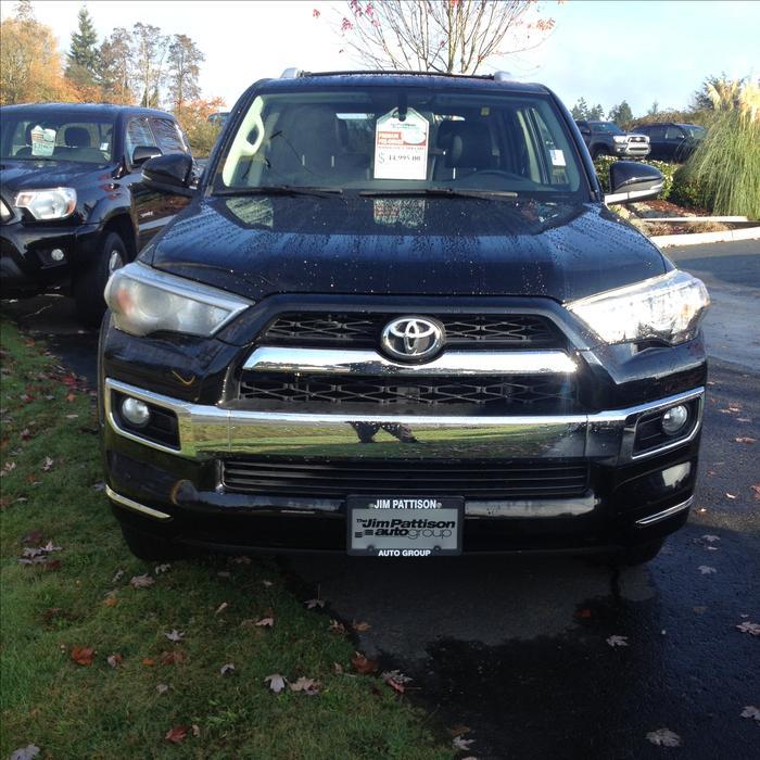 Used Toyota 4 Runner: 7 Passenger Outside Nanaimo