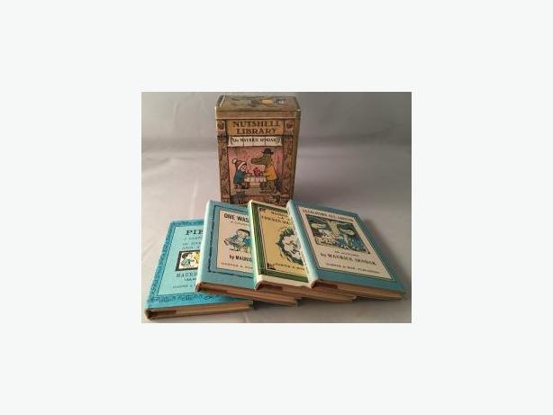 Nutshell Library by Maurice Sendak (4 Book Set in Original Slipcase)