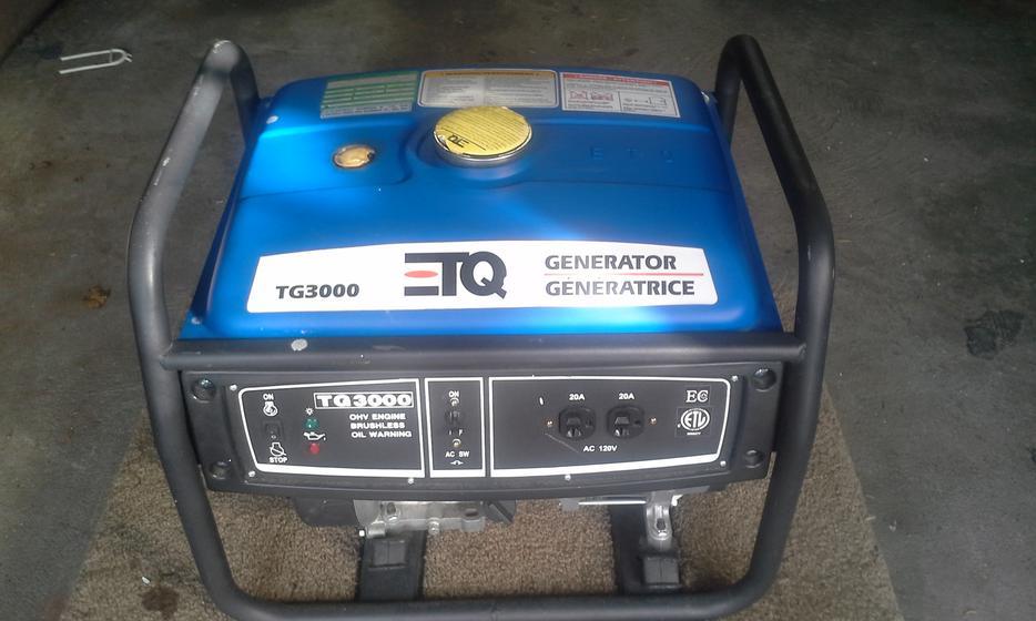 Etq Tg 3000 Generator Manual