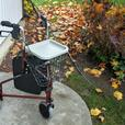 1 YEAR OLD INVACARE 3 WHEEL ROLLATOR WALKER FOR SALE