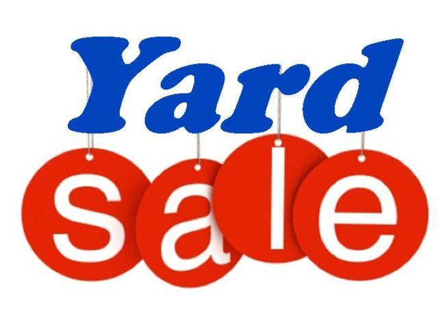 Tables Available For Multi Family Christmas Yard Sale
