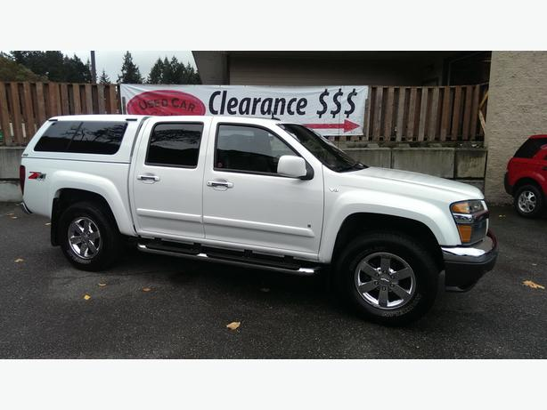 2009 chevrolet colorado z71 4wd crew cab with the 5 3l auto west shore langford colwood. Black Bedroom Furniture Sets. Home Design Ideas