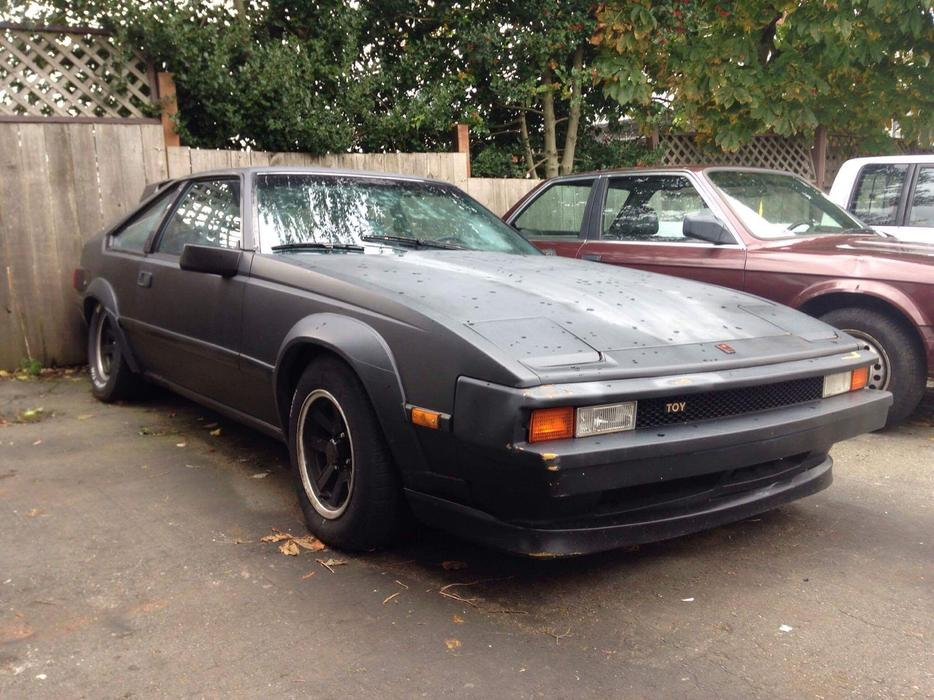 83 Toyota Supra 6cyl 5spd Needs Tlc Outside