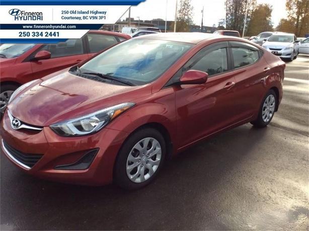 2014 Hyundai Elantra GL Heated Seats, Bluetooth, Fun to Drive Manual
