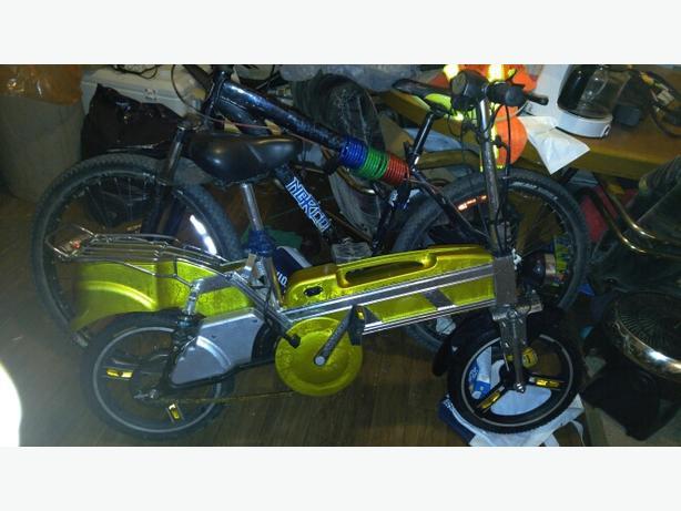 E-bike scotter