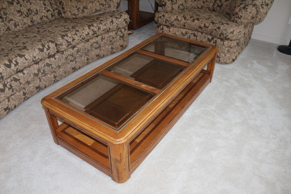 Coffee table and 2 end tables set of 3 qualicum nanaimo for Coffee tables kelowna