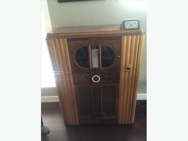 ** RARE** 1934 MILLS ZEPHYR JUKEBOX - MINT RESTORATION