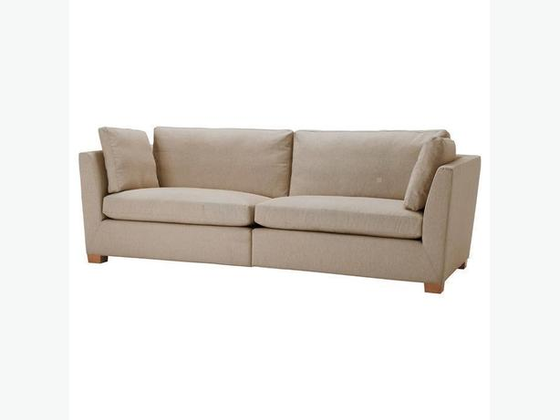 Ikea STOCKHOLM 3-1/2 Seat Sofa - Gammelbo Light Brown (Feathers)