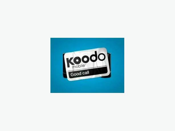 $54/mth Koodo Mobile 6GB LTE Unlimited Talk Text Plan Deal