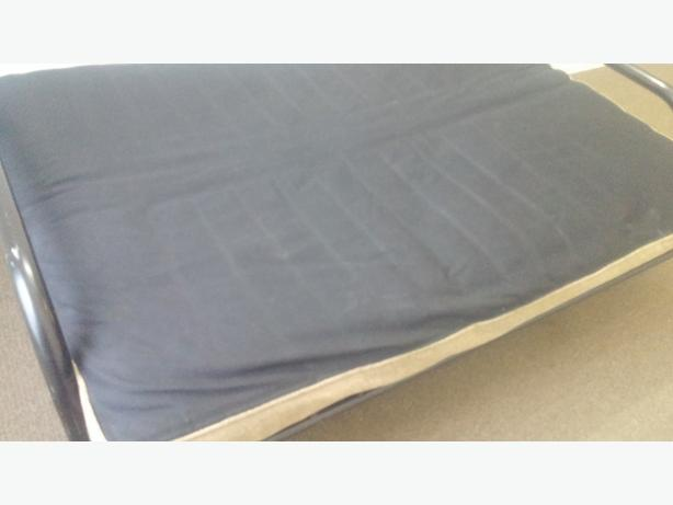 6 Inches Thick Beige And Black Futon Just Mattress Very