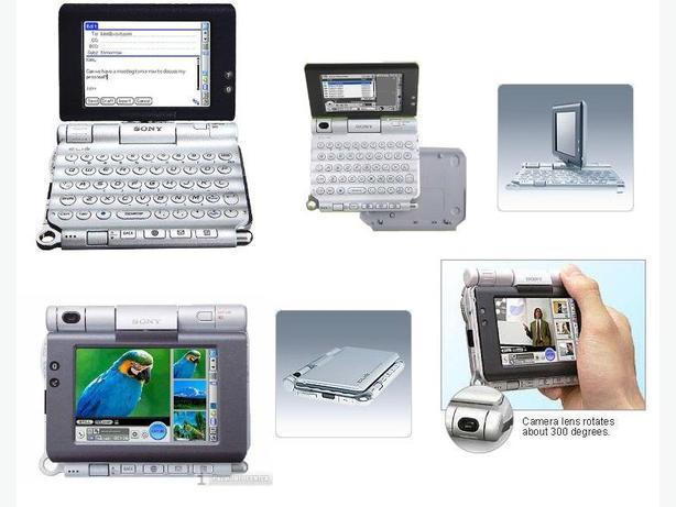 Sony Clie PEG-UX50 Keyboard PDA