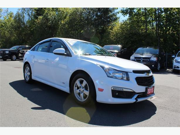 2015 Chevrolet Cruze LT | 1 OWNER | RS PKG. | BLUETOOTH