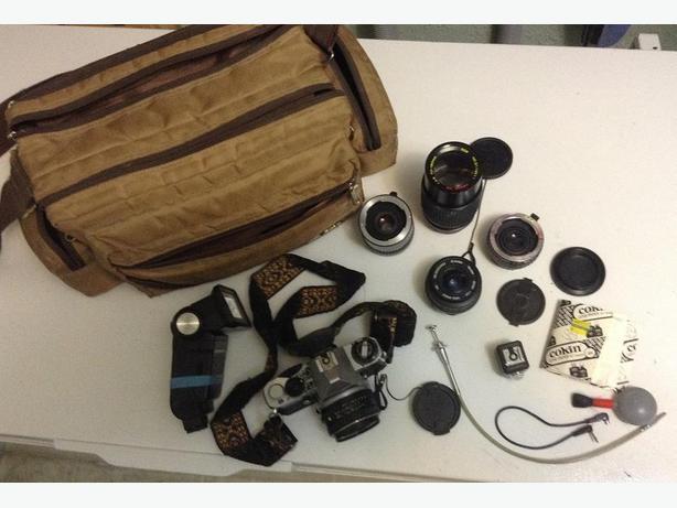 Camera & equiipment