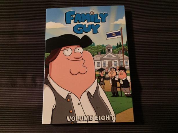 BRAND NEW Family Guy Volume 8