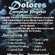 Psychic Mrs Dolores
