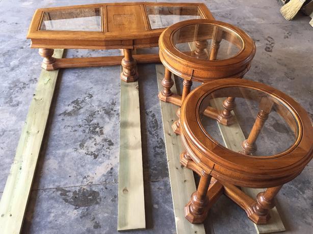 Matching Vintage Coffee Table And End Table Saskatoon Saskatoon