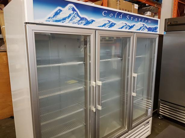 Commercial Display Coolers and Freezers