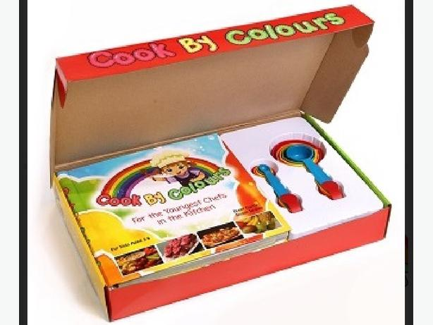 Cook By Colours childrens cookbook