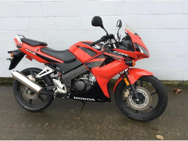 2008 CBR 125 Sportbike Motorcycle TUFF CITY