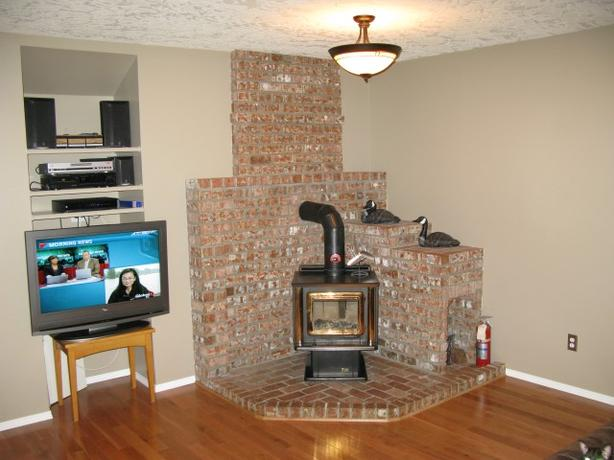 how to clean a pacific energy wood stove