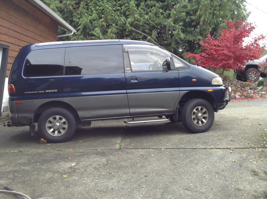 Mitsubishi Delica Vancouver Island