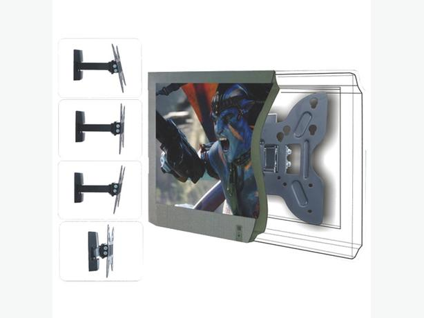 "TygerClaw 14"" – 40"" Full-Motion Swival Wall Mount LCD5305BLK"