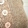 Gaza - Mocha Short Sleeve Knit Top