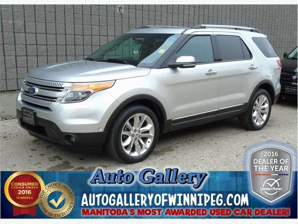 2012 Ford Explorer Ltd *Lthr/Pano/Nav