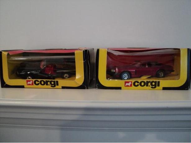 Corgi Jaguar In Original Box. 1981