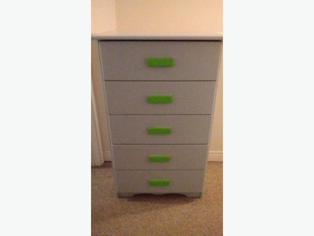 sturdy wooden dresser