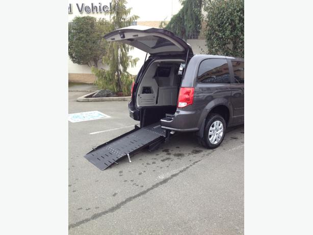 2015 Grand Caravan Wheelchair Conversion $34,990