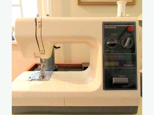 Sewing machine kenmore model surrey incl for Machine a coudre kenmore modele 385