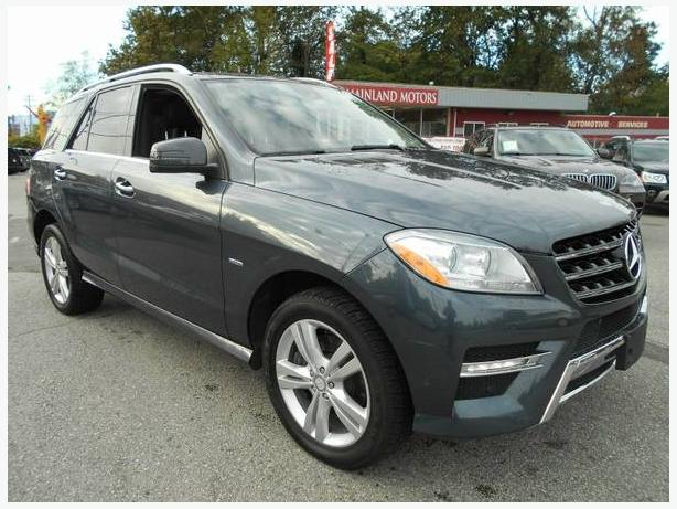 2012 Mercedes-Benz M-Class ML350 BlueTEC-DIESEL! FINANCING AVAILABLE