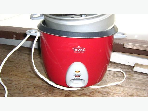Red Rice Cooker/ Steamer