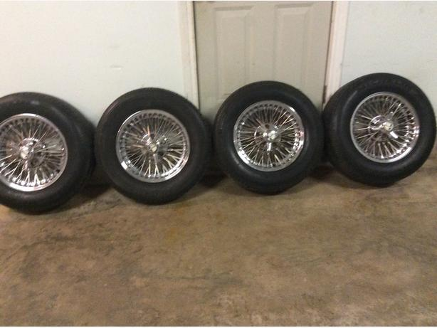15 inch Chevy spoke rims