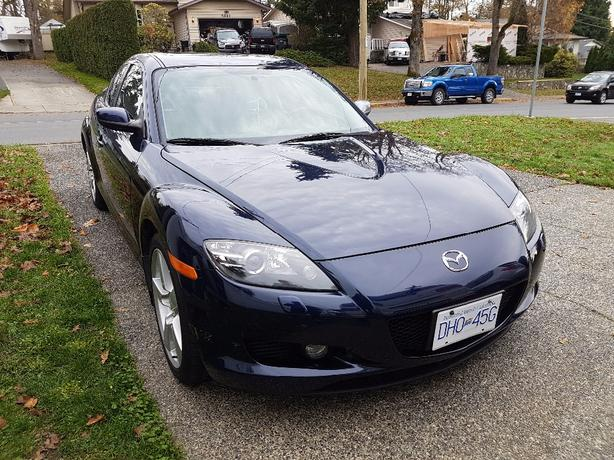 2007 mazda rx8 saanich victoria. Black Bedroom Furniture Sets. Home Design Ideas