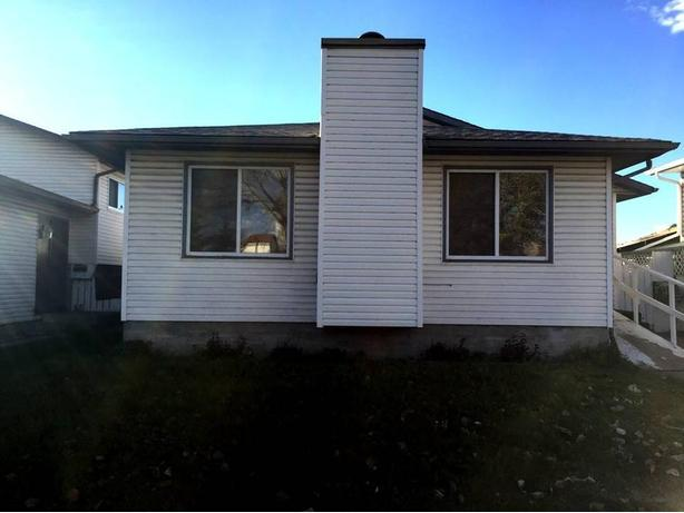 SOLD - Very good size Bungalow with single detached Garage .
