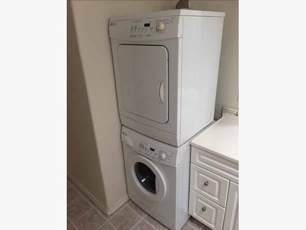 Stackable or side by side maytag apartment electric size washer and dryer set sooke victoria - Apartment size stackable washer and dryer ...