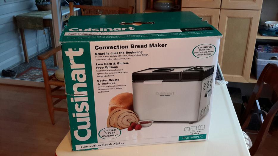 Cuisinart Convection Bread Maker In Box / Recipe BOOK - AS ...