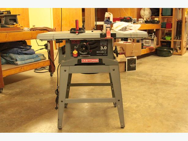 10 inch craftsman table saw nanoose bay nanaimo for 10 inch table saw craftsman